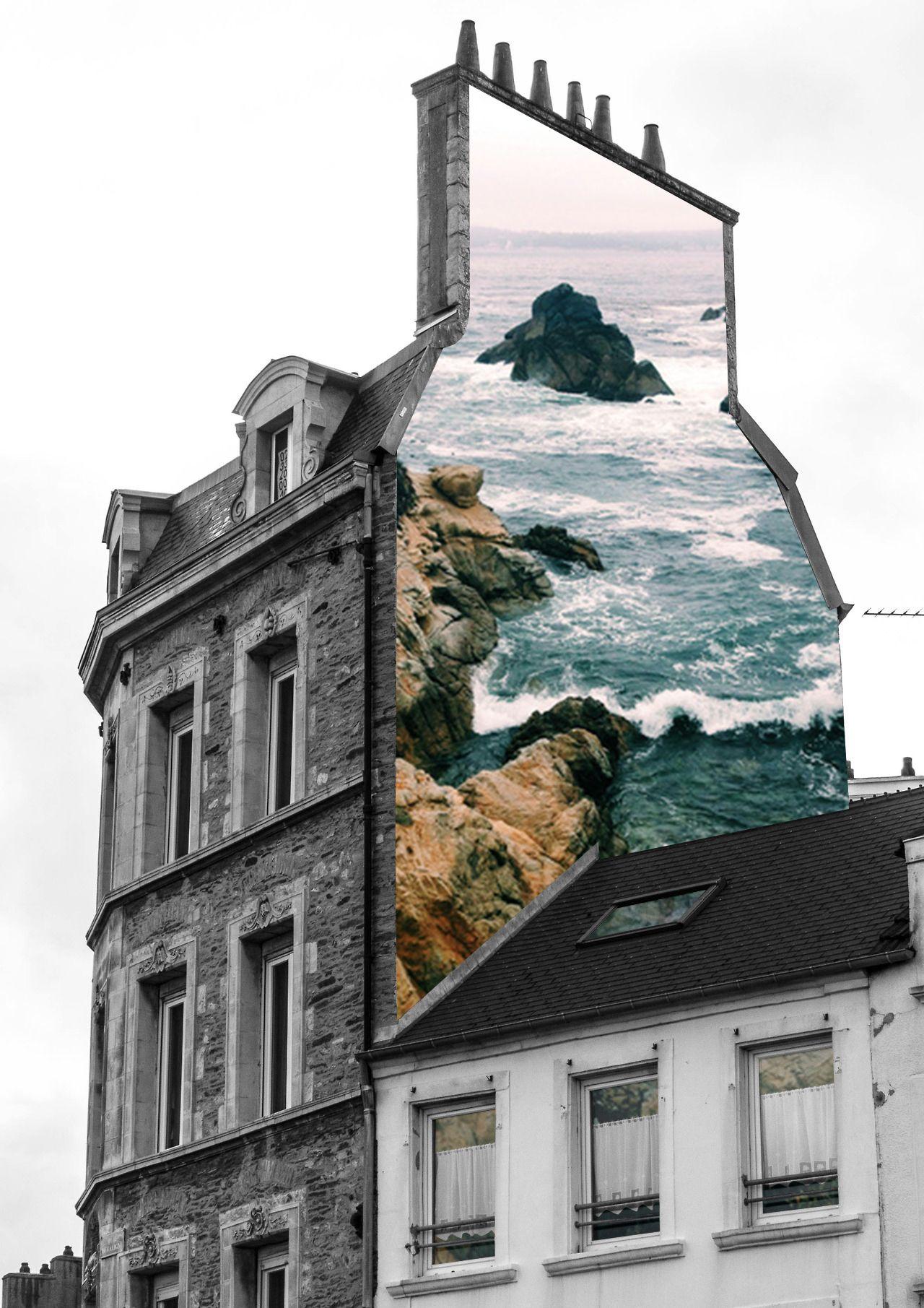 .Le niveau de la mer monte, là c'est sûr ! / Street art. / By Merve özaslan.