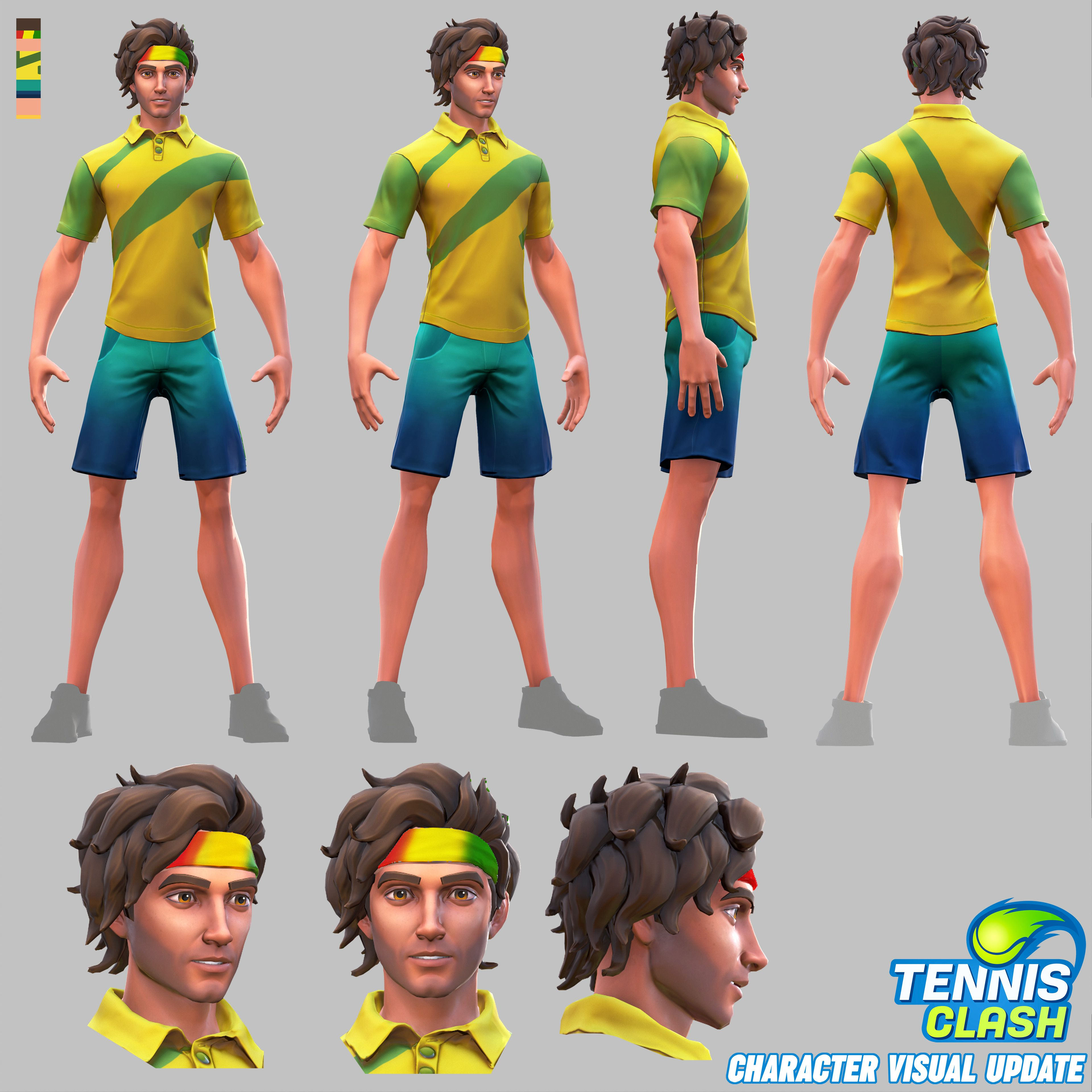 how to play tennis clash
