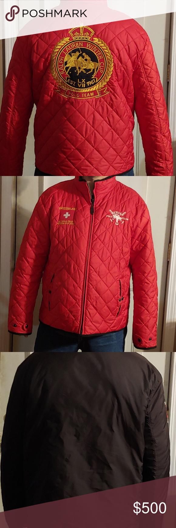Rare Ralph Lauren 2008 Winter Cup Jacket Jackets Ralph Lauren Jackets Ralph Lauren [ 1740 x 580 Pixel ]