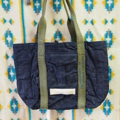 Made In USA DENIM BAG, TRIPPERS - JUNKY STYLE | junkie style