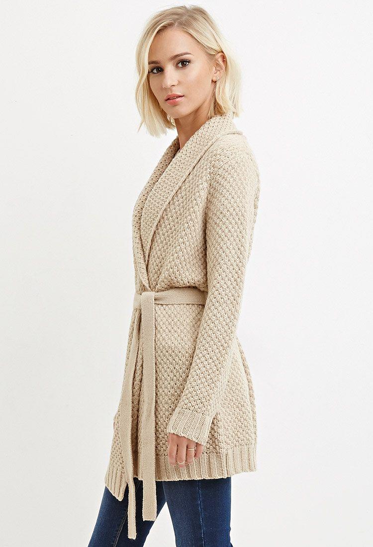 forever 21 belted longline cardigan | Shop Forever 21 for the ...