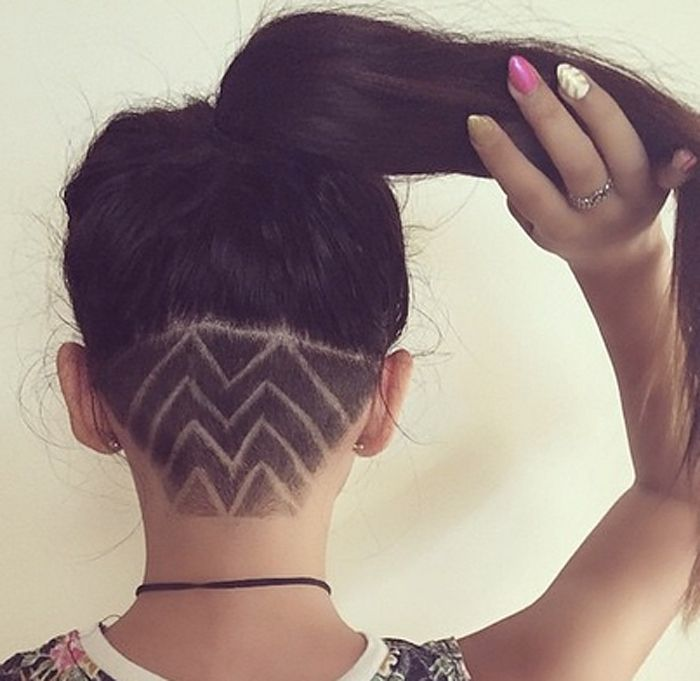 These Pretty Neck Designs Will Give Your Undercuts New Life Cool Hair Designs Cool Hairstyles Shaved Hair Designs