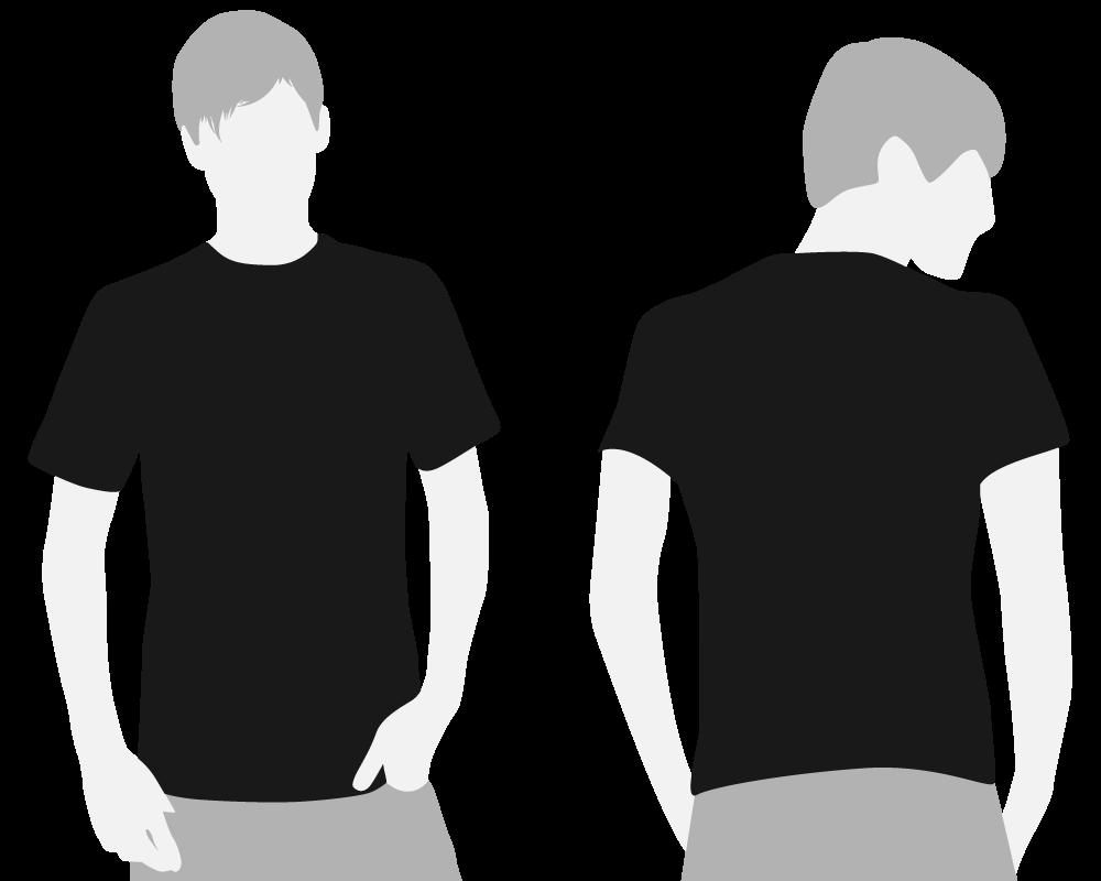 Download Black T Shirt Template Clipart Library Clip Art Library Black Shirt T Shirt Clipart Black Tshirt