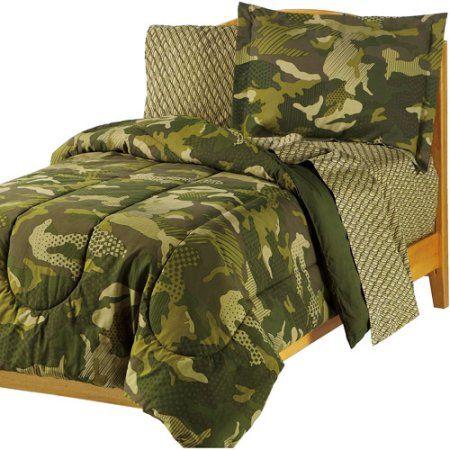 Camo Comforter Sets Bedding, Teen Camo Bedding
