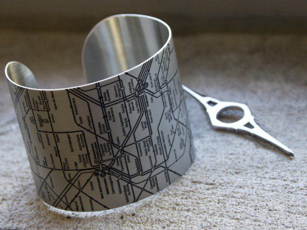 Designhype jewelry discovered by The Grommet is inspired by the cities we know and love, this jewelry is a way to keep the places we love close.