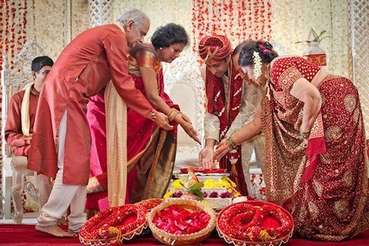 Indian Wedding Ceremonies Are So Full Of Rituals And Customs Every Step Has Some Religious