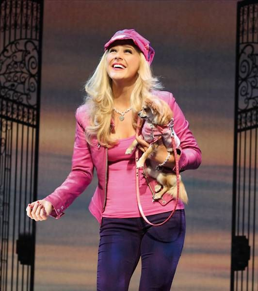 "legally blonde the musical musical"" legally blonde the  legally blonde the musical"