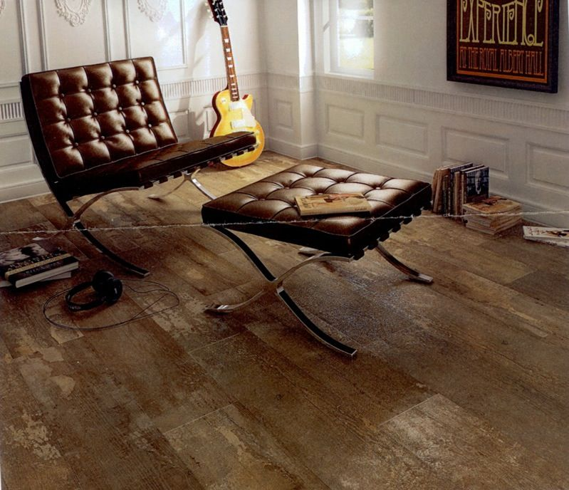Natura By Colorker Love These Spanish Floor Tiles That Perfectly Imitate Old Worn Floorboards