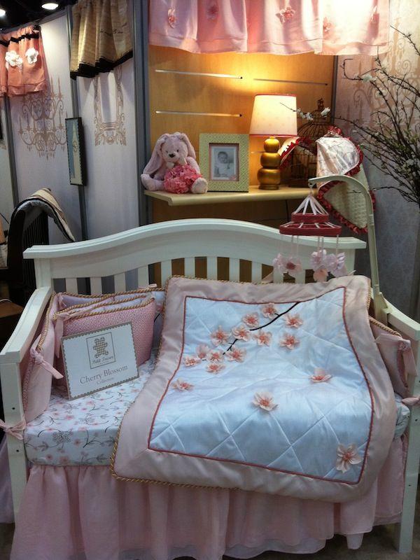Petit Tresor Cherry Blossom Crib Bedding Set. What\'s your favorite ...