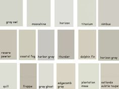 Benjamin Moore Grays Revere Pewter Is Too Brown Horizon Gray Dark Trying Moonshine And Anium Next A Shade Down From
