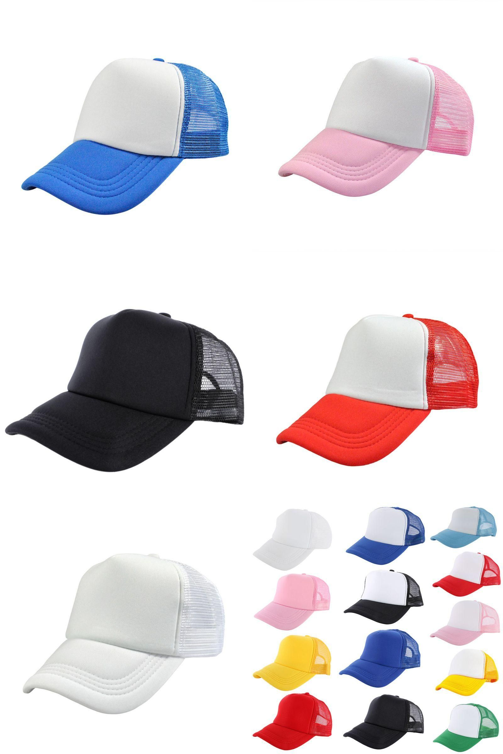 86dc82413d342 Visit to Buy] Men Sun Hat Women Unisex Plain Blank Curved Visor Hat ...