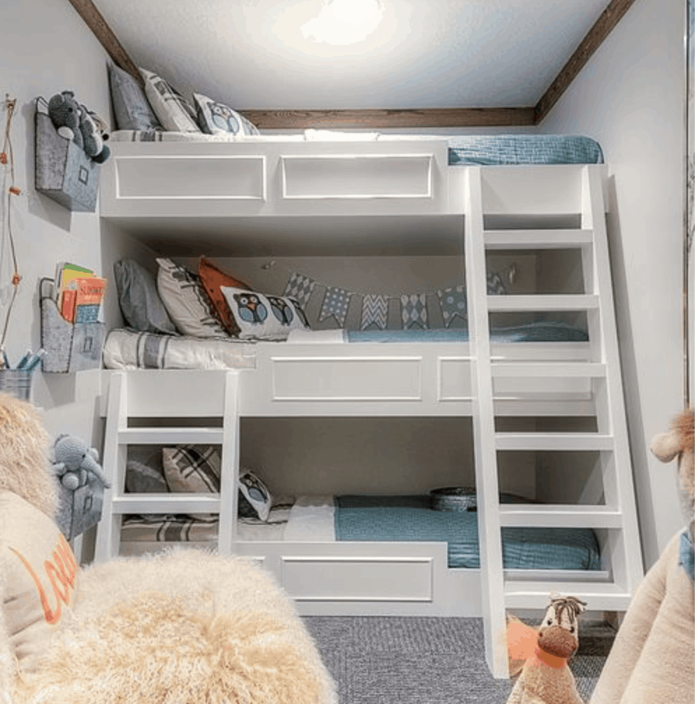 10 Types of Triple Bunk Beds (Plus 25 Top Picks 2020)