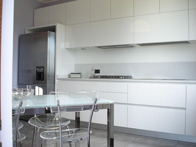 cuisine blanche laquée: 99 exemples modernes et élégants   cuisine