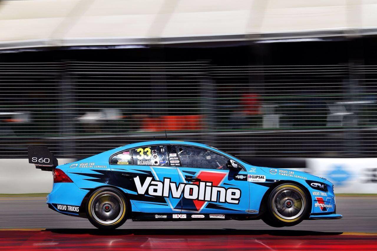 Valvoline Polestar Volvo V8 Supercar in full flight
