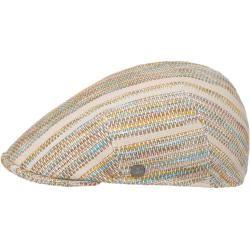 Photo of Lierys Color Stripes Flat Cap Flat Cap Linen Cap Cotton Cap LierysLierys