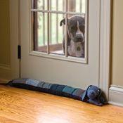 Cozy Dog Draft Stopper
