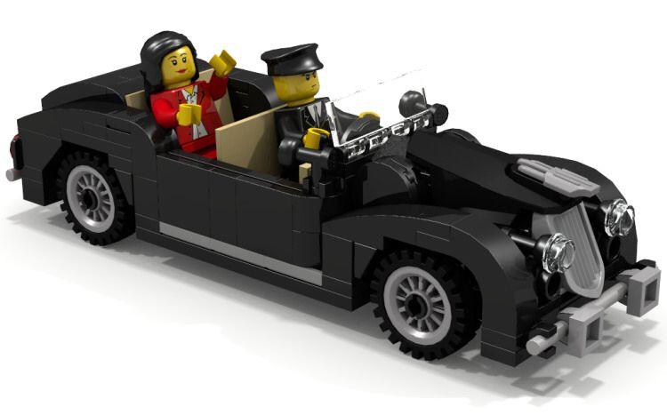 Custom Lego Limousine Ldd Building Instructions By O0ger Lego