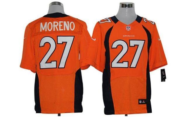 9f4cdafe0 Camiseta de futebol americano Moreno - Denver Broncos.
