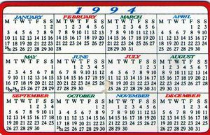 Pin By Jill Allyn On New Year S 1964 To Present New Year Calendar