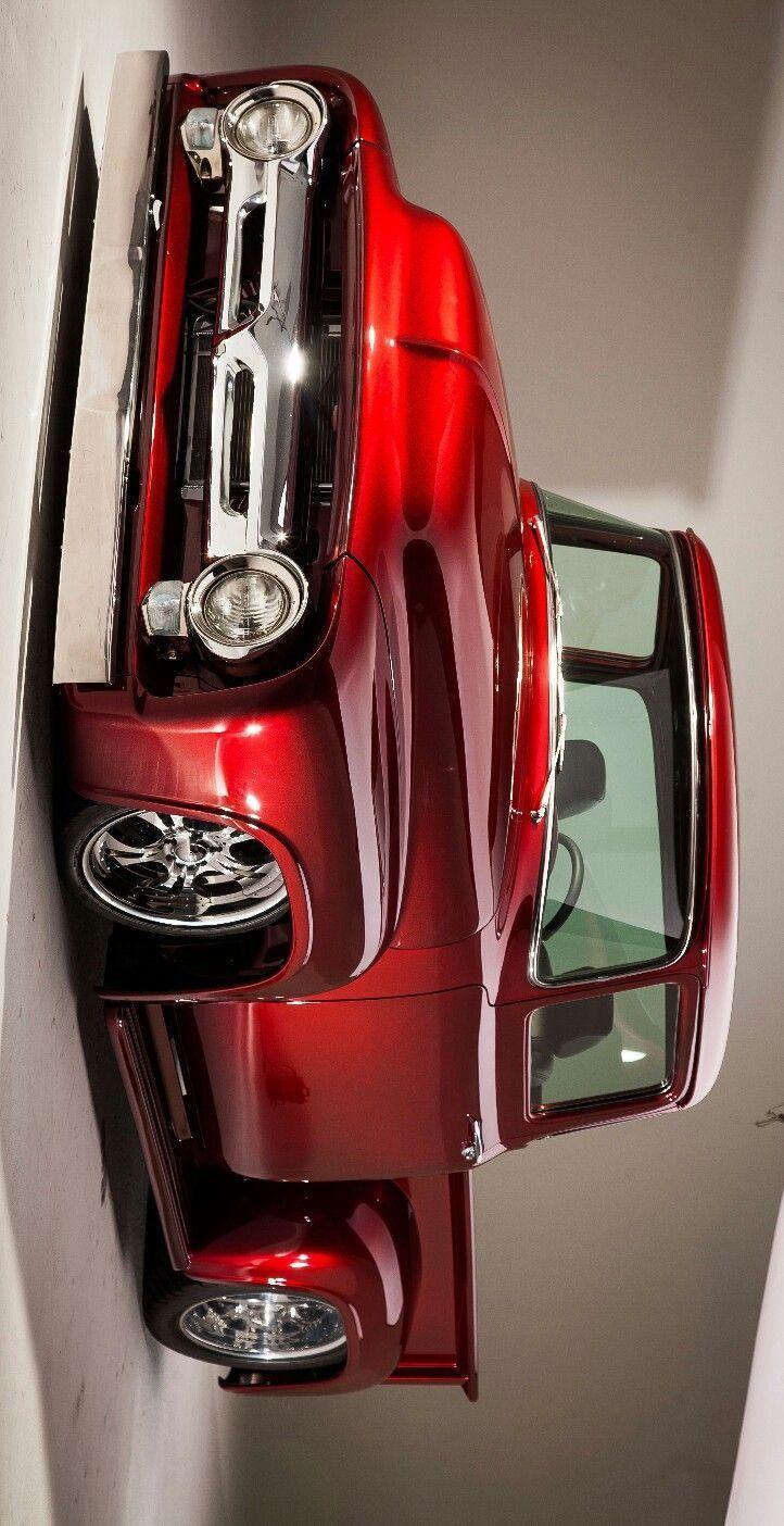 (°! °) 1956 Ford F100 Retro-Lieferwagen   - Klassiche Ford Auto -