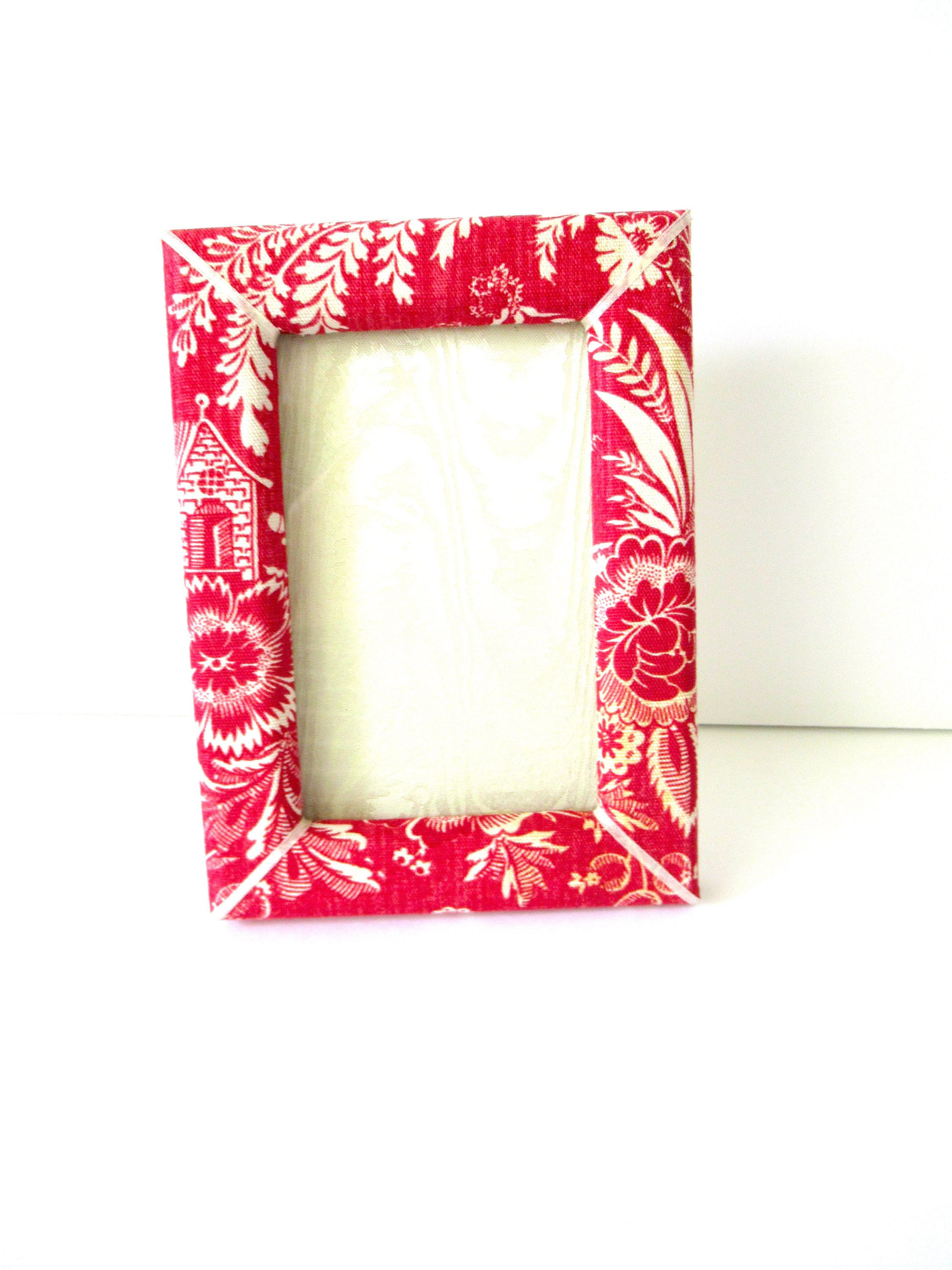 Pierre Deux Photo Frame, Fabric Photo Frame, French fabric, Pierre ...