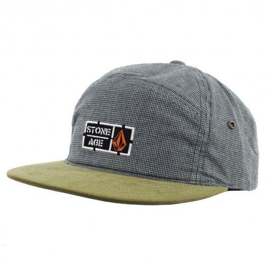219040a02e0 Volcom Fabric Break Hat casquette 6-Panel olive grey 35
