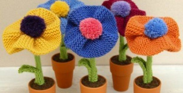 Berkshire Knitted Blossoms The Knitting Space Yarnplay
