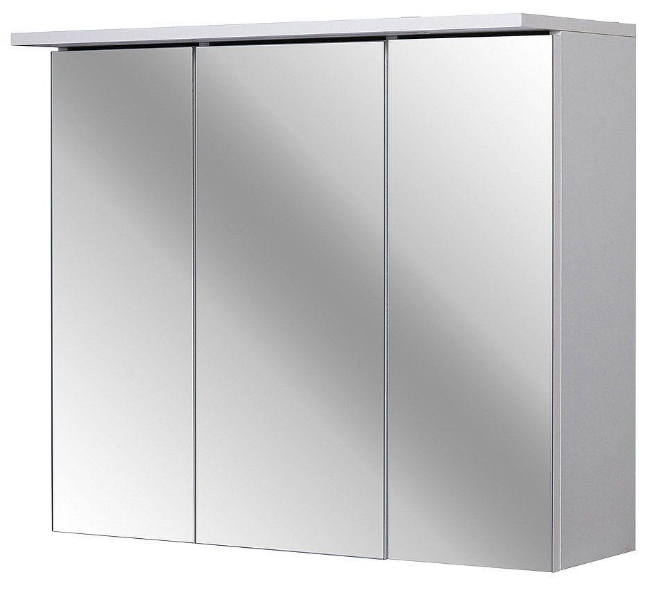 Kesper Spiegelschrank Flex 80 Cm Weiss Spiegelschrank Badezimmer Spiegelschrank Und Led Beleuchtung