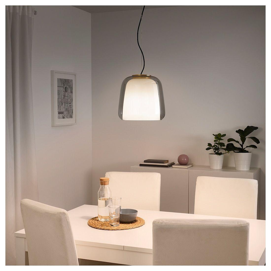EVEDAL Pendant lamp gray Pendant lamp, Cool floor