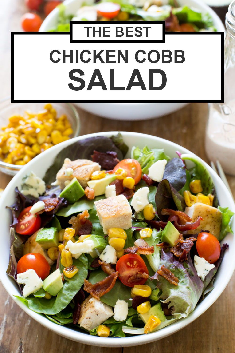 Grilled Chicken Cobb Salad With Spicy Buttermilk Dressing Chef Savvy Recipe In 2020 Healthy Chicken Recipes Zesty Salad Healthy Fruit Salad
