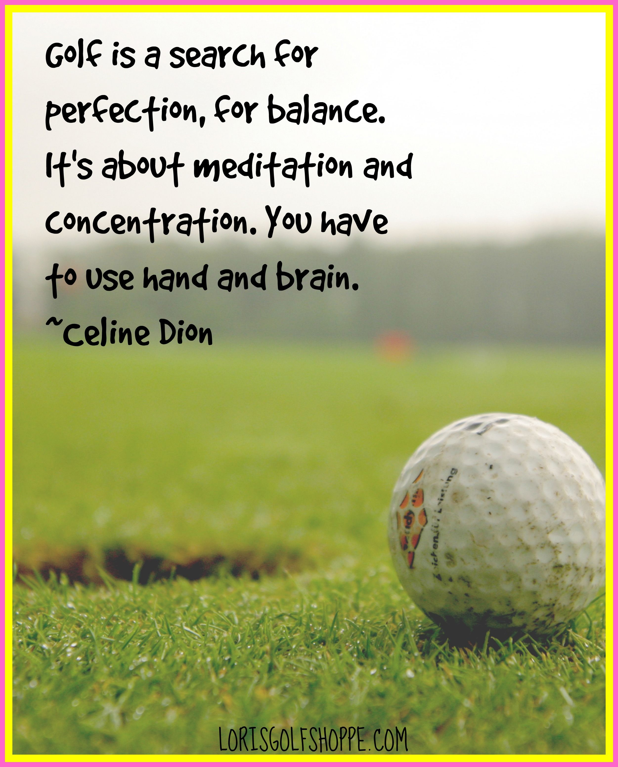 Golf Quotes Using Of Hands And Brainrepin If You Agree Golf Quotes