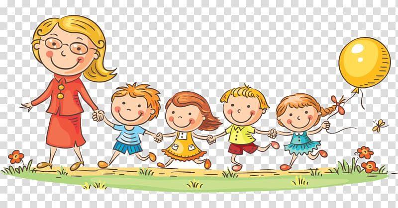 Kindergarten Teacher Child School Teacher Transparent Background Png Clipart Teacher Cartoon Kindergarten Kids Child Teacher