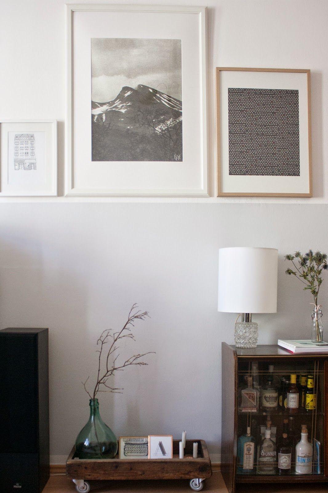 zweiundf nfzig selbstgemachte kranlampe stuff pinterest k che graue w nde and wohnen. Black Bedroom Furniture Sets. Home Design Ideas