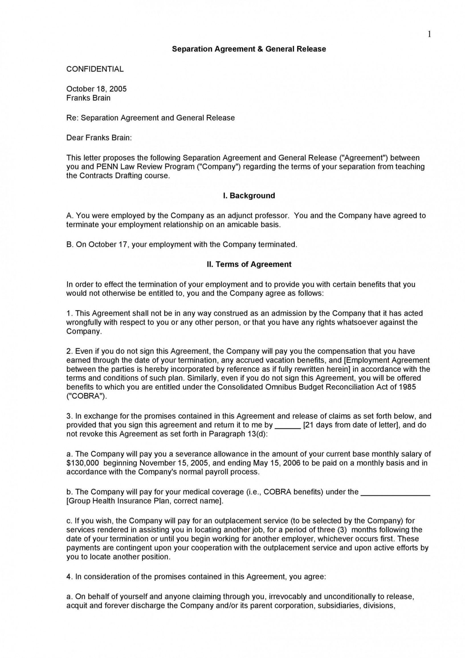 Browse Our Image Of Voluntary Employment Separation Agreement Template Separation Agreement Template Separation Agreement Rental Agreement Templates Property settlement agreement virginia template