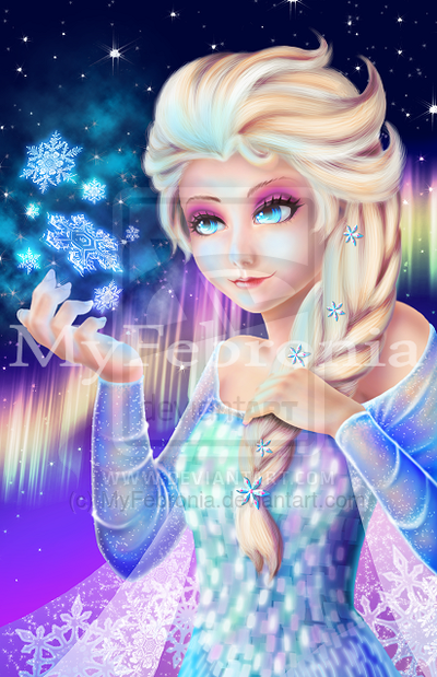 Elsa - Frozen by MyFebronia.deviantart.com on @deviantART