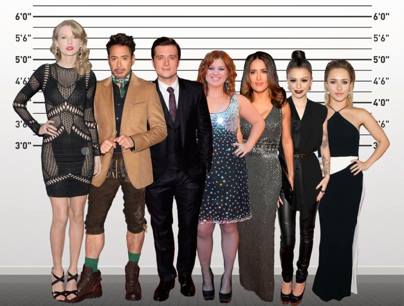 Hayden Panettiere And Anna Kendrick Both 5 0 Short Celebrities Short Women Fashion Celebrities