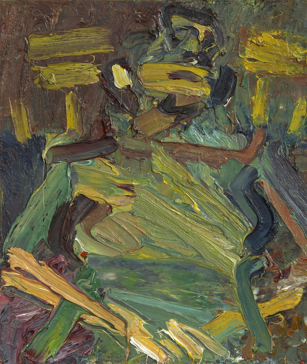 A biography of frank auerbach