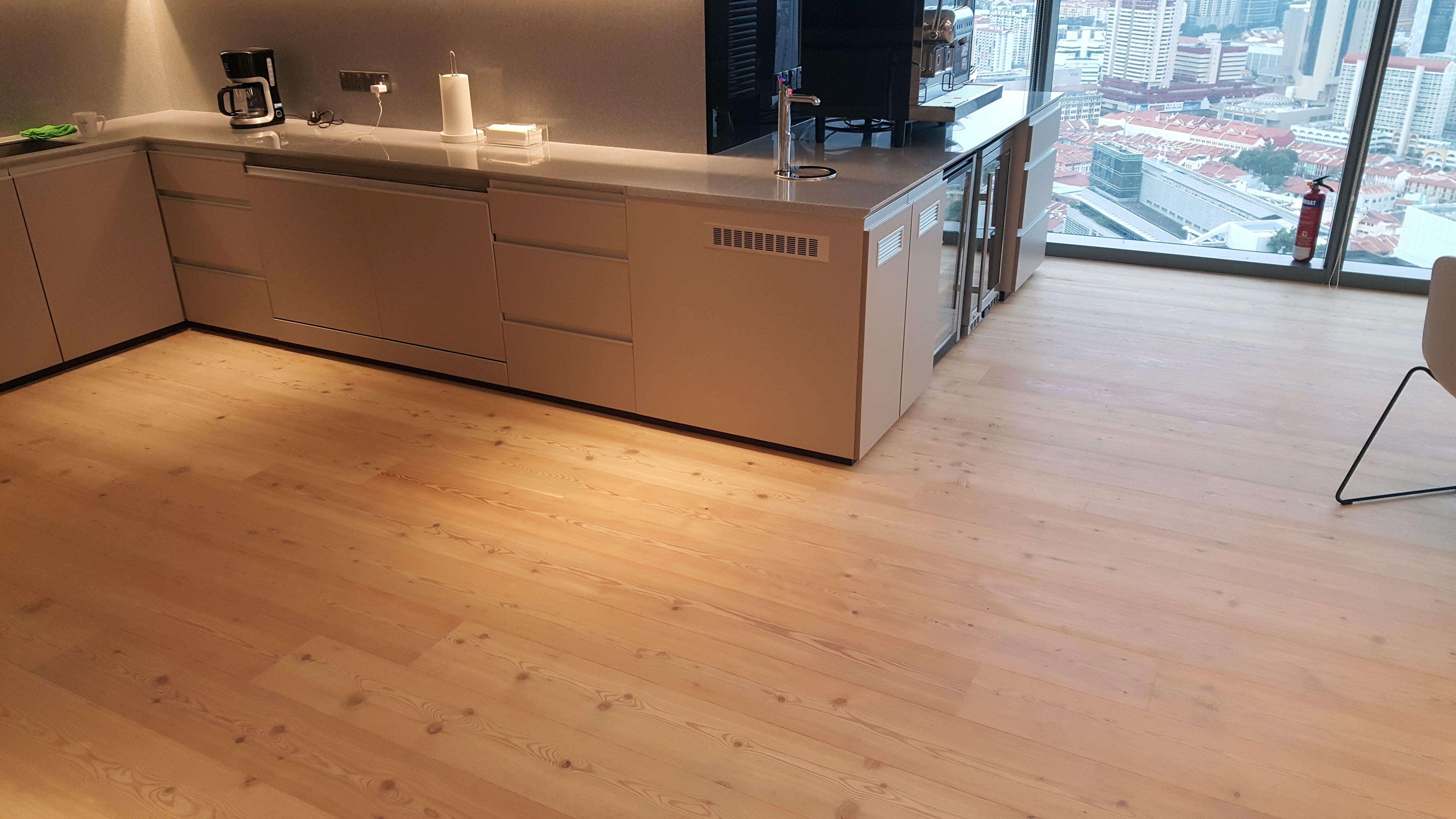 Dnb Bank Timber Deck Flooring Carpentry