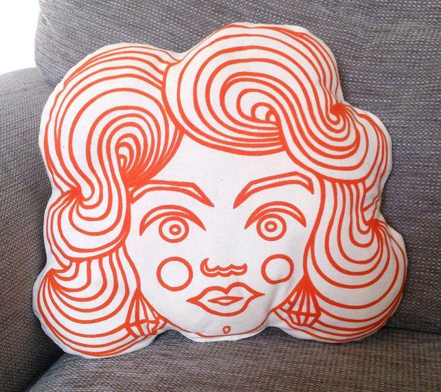 Lovely Lady Cushion £21.00