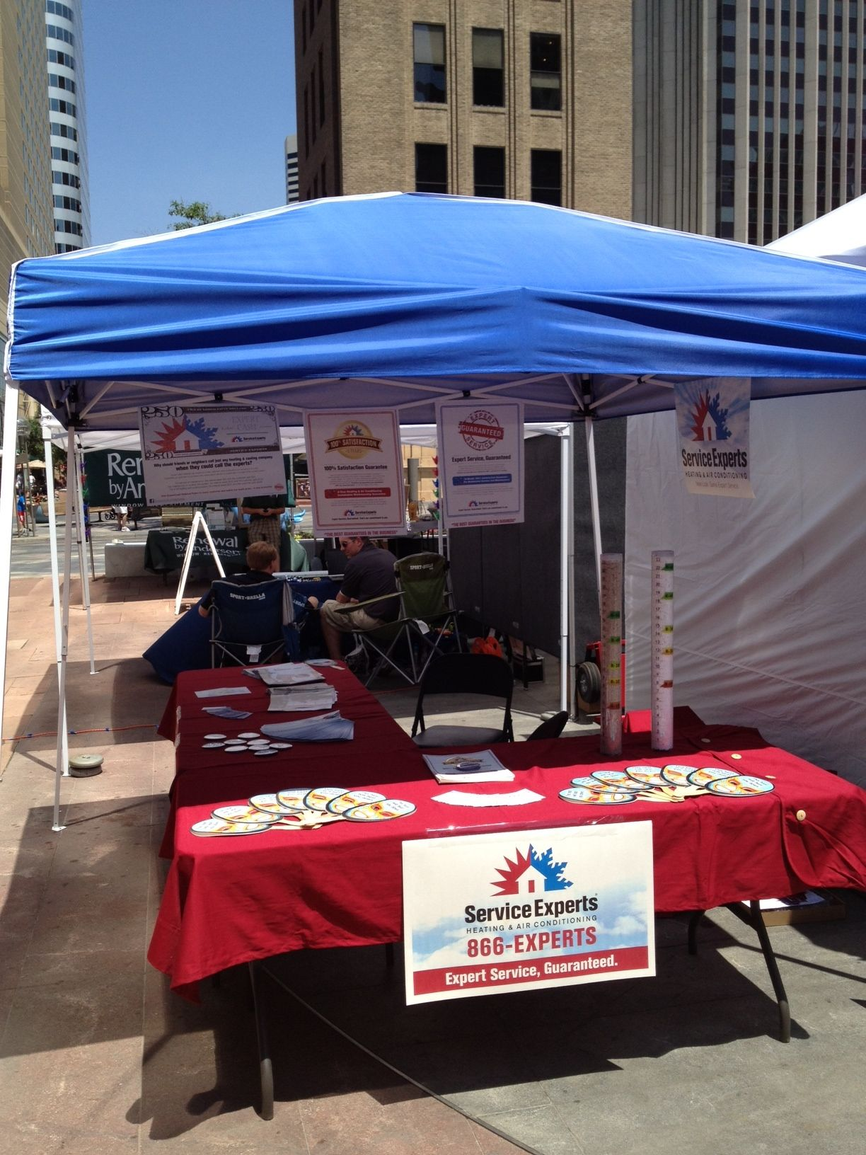 Service Experts Heating Ac At The Urban Home Show July 13th