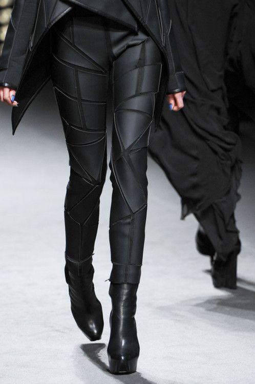 Futuristic Fashion | futuristic style, trousers, black clothing, Can't get  over