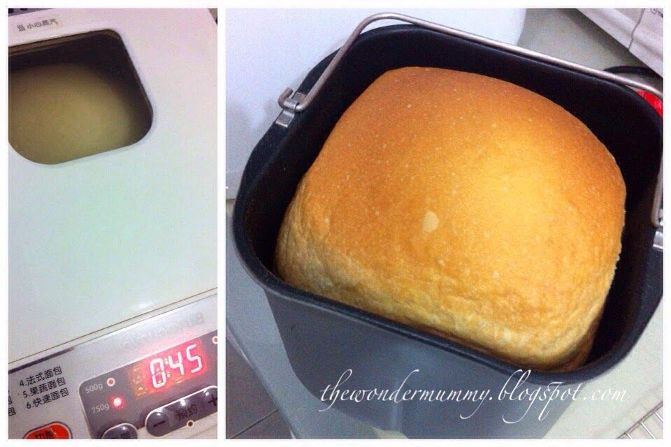 Tangzhong Breadmaker Loaf With The Joyoung Bread Maker With