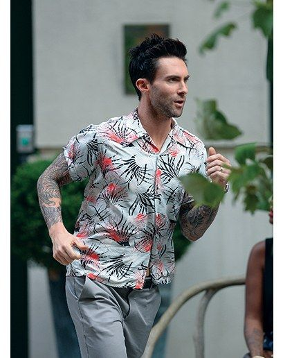 Shirts Casual Flower Shirts Print Hawaiian Short Sleeve Shirts Mens Clothing Trend 2019 Top Brand Summer Fashion Mens Shirt Elegant Shape Men's Clothing