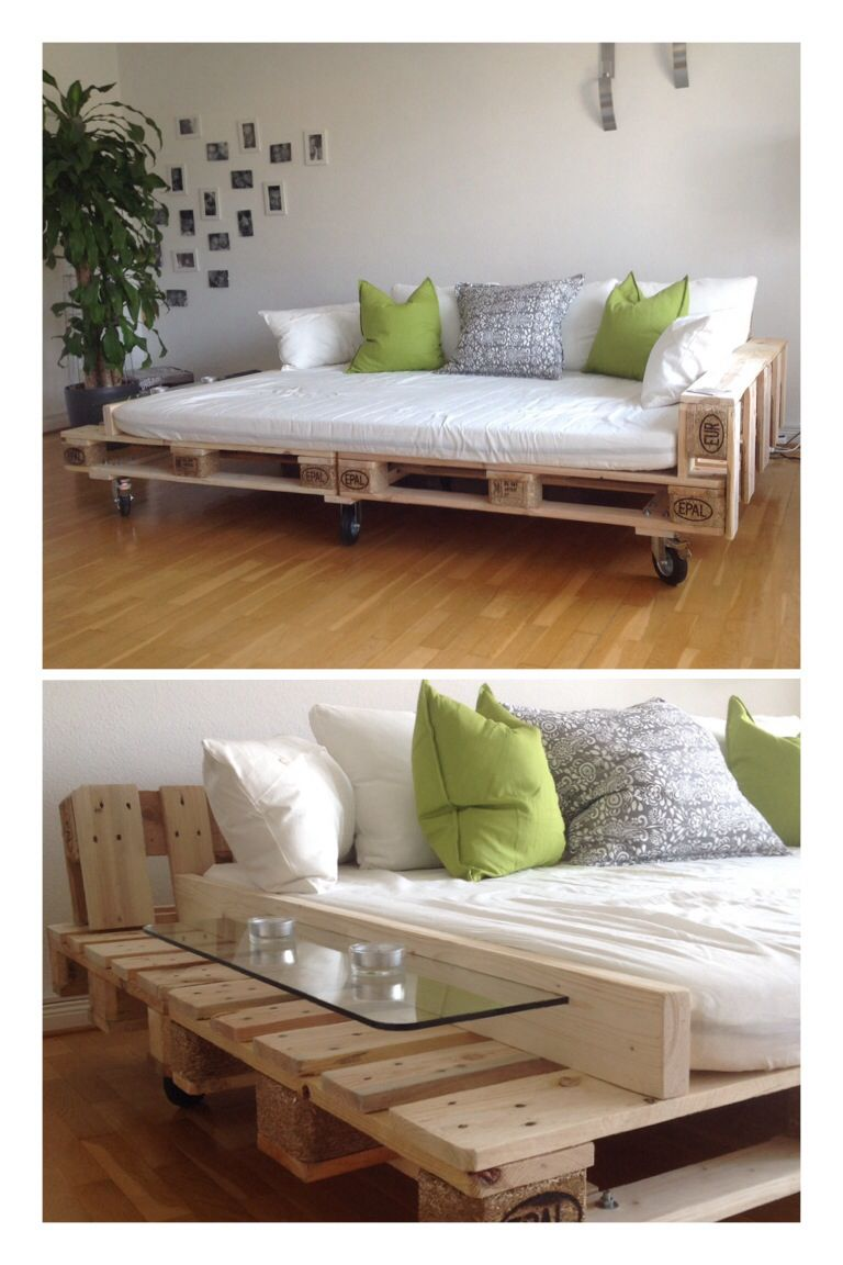 self made pallet bigsofa / bigsofa aus paletten | pallet in 2018