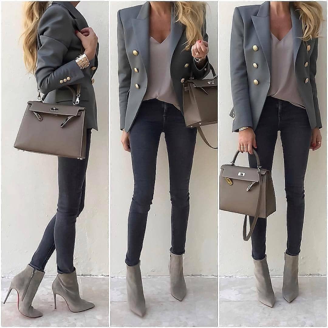2 791 Aprecieri 12 Comentarii Pretty In Fashion Prettyinfashion Pe Instagram Which O Stylish Office Wear Spring Work Outfits Casual Work Outfits