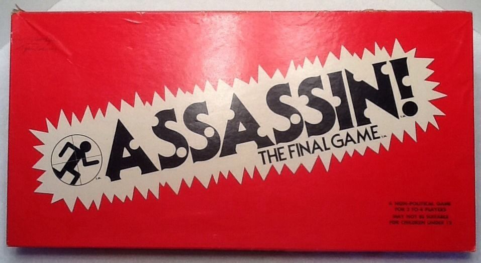 RARE Assassin The Final Game Southhold Board Game 1980 New York Made in USA | eBay