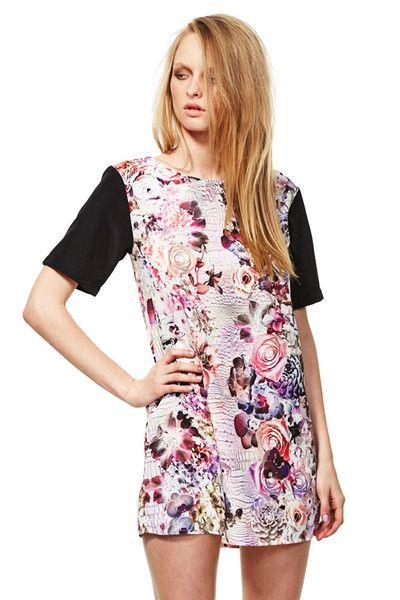 "Online ""Star Style"" Australian Fashion Boutique.  Jesper Tee Dress  http://www.tadameboutique.com/collections/all/products/jesper-tee-dress#sthash.kgRKSY3t.dpbs  #maythelabel #shirtdress #jesperteedress #teedress #floral #floraldress #pinkdress #blackdress #designer #designerclothing #designerdress #fashion #dress #dresses #Aussiefashion #Australianfashion #tadameboutique #beautiful #onlineboutique #celebstyle #onlinefashionboutique #startstyle"