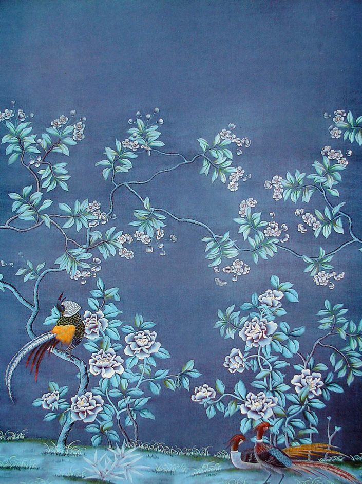 How Do They Do That? Chinoiserie Wallpaper Chinoiserie