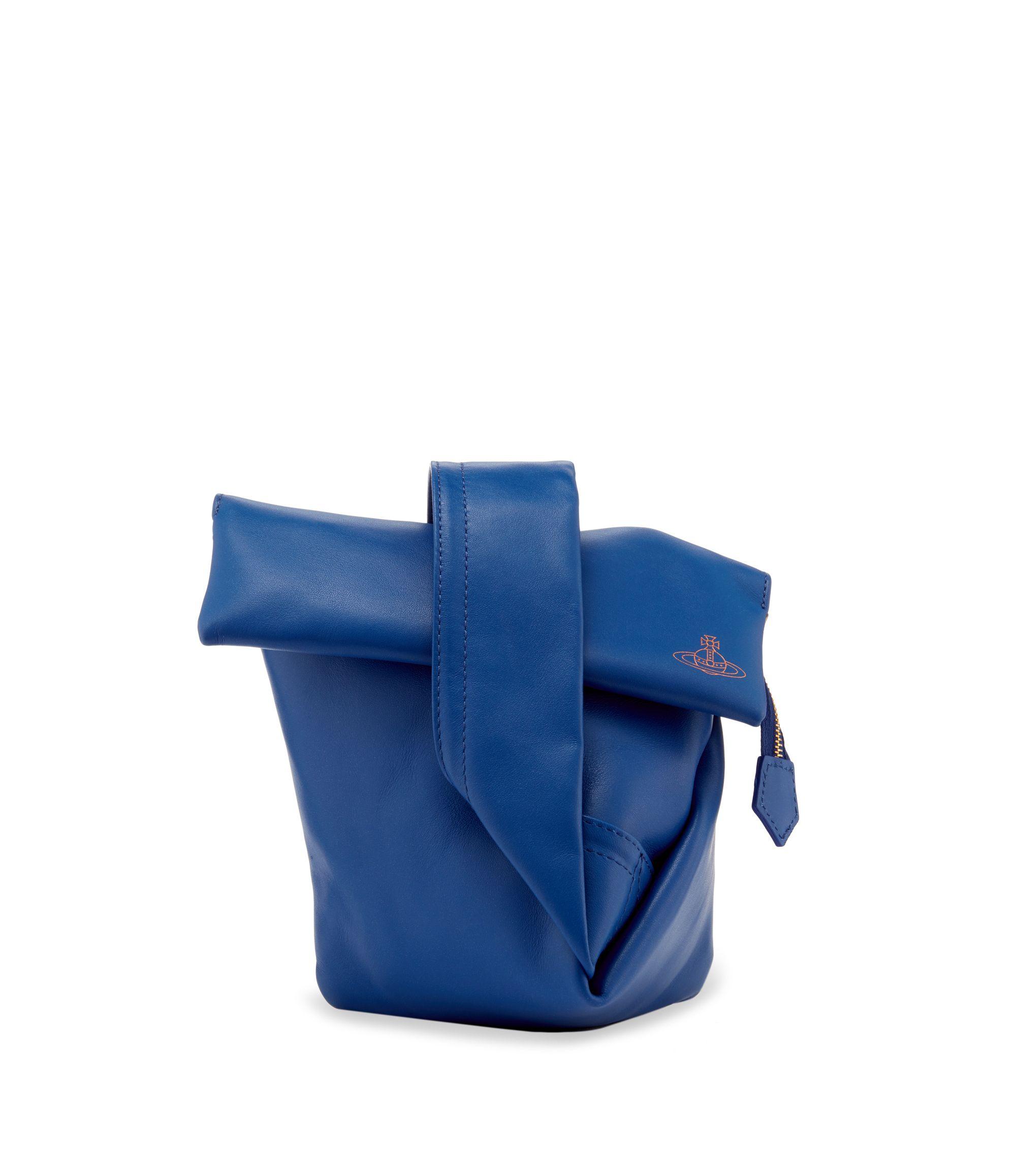 7af30c0241 VIVIENNE WESTWOOD Vivienne'S Bag Cobalt 6973. #viviennewestwood #bags  #leather #clutch #hand bags #