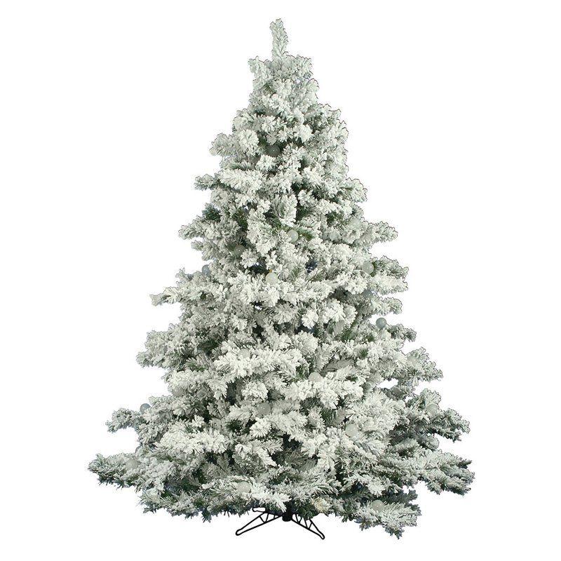 Have to have it. Vickerman Flocked Alaskan Unlit Pine Christmas ...